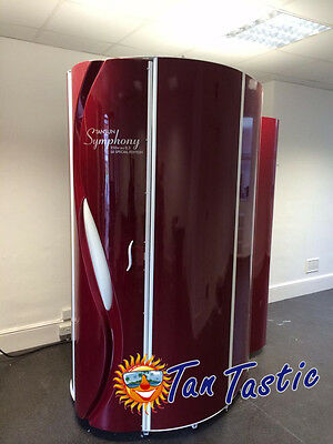 Tansun Symphony Sunbed 48tube 225w Standup Tanning Sun Bed Commercial Home Use • 3,000£