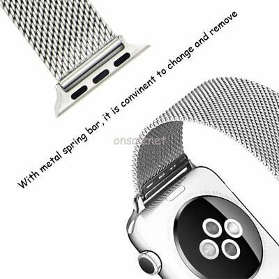 $ CDN60.09 • Buy For Apple Watch Series 5-4-3-2-1, Le Veil® Original HQ Watch Band + Free Cover