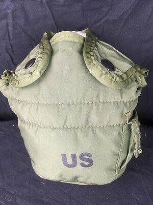 $ CDN12.50 • Buy  US Military Surplus 1QT Water Canteen Cover Carrier LC-2 For 1 Quart Olive Drab