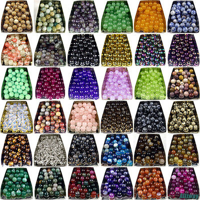 $ CDN1.31 • Buy Series I Lot Natural Gemstone Spacer Loose Beads 4mm 6mm 8mm 10mm 12mm Stone DIY