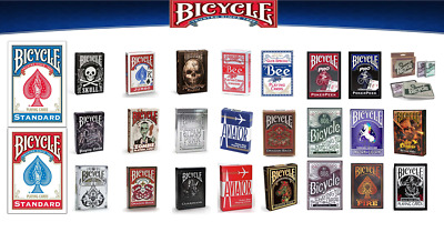 £5.89 • Buy Bicycle Playing Cards Decks Official Range Special Casino Poker Magic Game Cards