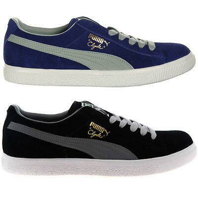 Puma Clyde Script Mens Trainers Shoes, Casual Shoes Brand New Fashion Sneaker • 34.99£