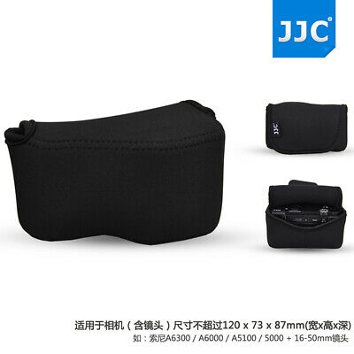 AU17.99 • Buy Camera Pouch Case Bag For Sony A6500 A6400 A6300 A6000 A5100 A5000 +16-50mm Lens