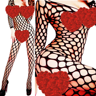 $9.46 • Buy Women Lingerie Fishnet Body New Bodystocking Stocking Sleepwear Babydoll Chemise
