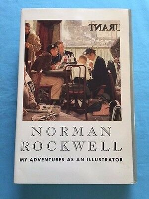 $ CDN626.60 • Buy My Adventures As An Illustrator - By Norman Rockwell- Signed