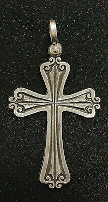 ATOCHA  Pendant Sterling Silver Cross Sunken Treasure Shipwreck Jewelry • 39.99$