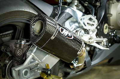 $403 • Buy M4 Exhaust BMW S1000RR 2015 2016 Slip On With TECH ONE CARBON Muffler