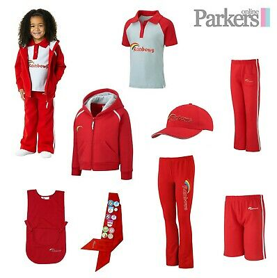 Official Rainbows Uniform Hoodie Polo Leggings Shorts Cap Sash Trousers Tabard • 9.99£