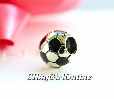 AU32.06 • Buy New!! Authentic Pandora Sterling Silver Charm Soccer Ball 790406 **retired**
