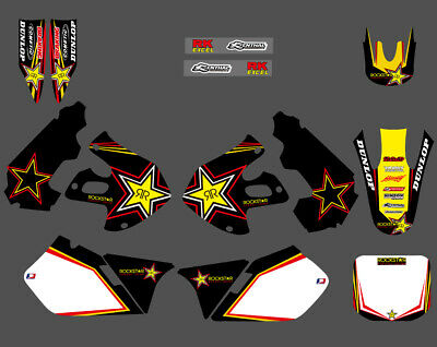 $54.99 • Buy Team Graphics Backgrounds Decals For SUZUKI RM125 RM250 RM 125 250 1999 2000 D1
