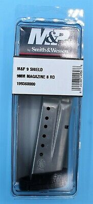 $44.95 • Buy Smith & Wesson M&P Shield 9mm Magazine 8-RD Round S&W Factory Extended Clip Mag