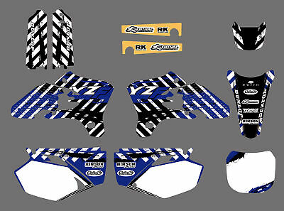 $46.99 • Buy Graphics Backgrounds Decals For Yamaha YZ250F YZ450F YZ 250F 450F 2003 2004 2005