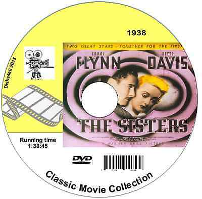 The Sisters - Errol Flynn, Bette Davis  DVD1938 Film • 1.39£
