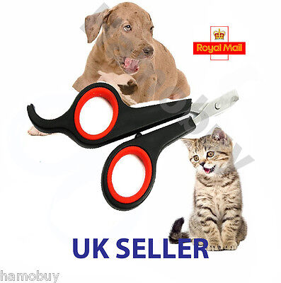 £2.50 • Buy Puppy Nail Clippers Claw Cutters PET DOG CAT RABBIT Animal Scissors Trimmers