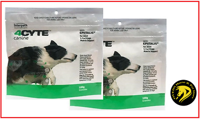 AU105.50 • Buy 4Cyte Canine Joint Support For Dogs 100gm X 2