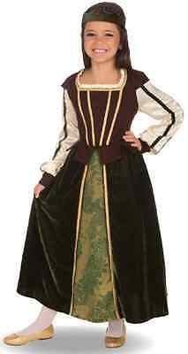 $43.14 • Buy Maid Marion Renaissance Lady Medieval Fancy Dress Up Halloween Child Costume