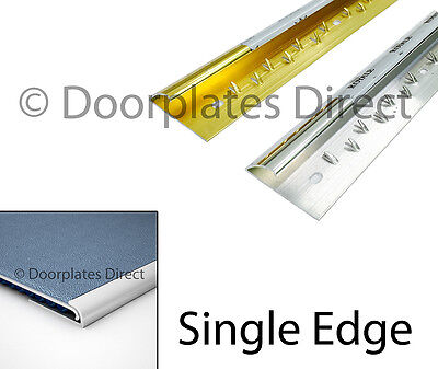 Carpet To Doorway - Single Side Trim Bar - Silver Or Brass - Threshold / Metal • 0.99£