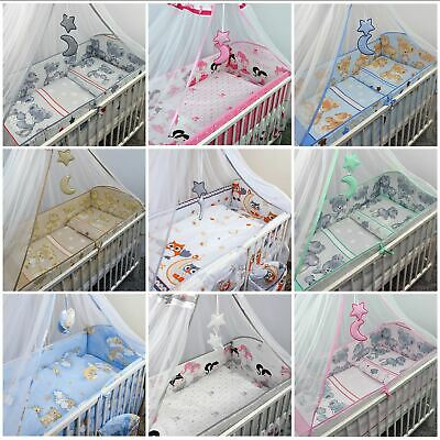 £19.99 • Buy Long All Around Cot Bumper Sizes To Fit Baby Nursery / Toddler Cot / Cot Bed
