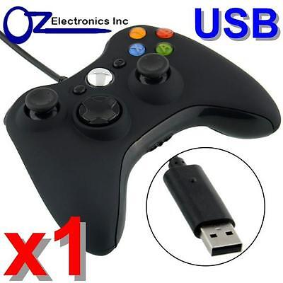 AU25 • Buy 🔥AU Wired Game Controller Gamepad For XBOX 360 Console Joypad Windows PC Black
