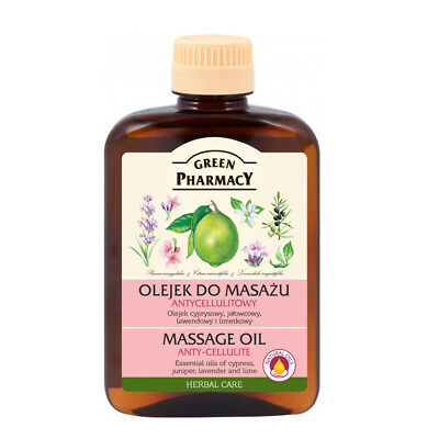 Green Pharmacy Oil Massage Anti Cellulite And Stretch Marks 200ml Vegan • 7.29£