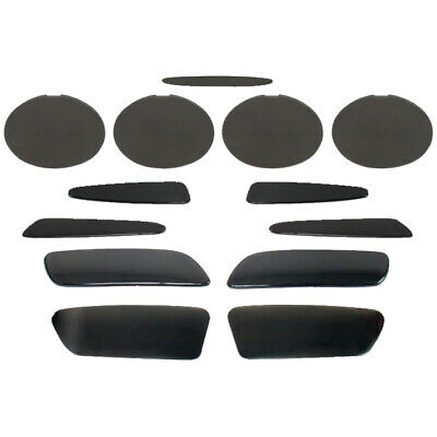 $228.99 • Buy C6 Base Model Corvette 2005-2013 Complete Blackout Kit - 13 Piece Set