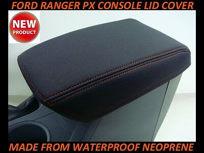AU44.50 • Buy Fits Ford Ranger Px Neoprene Console Lid Cover (wetsuit) Px I - Px 2 - Px 3