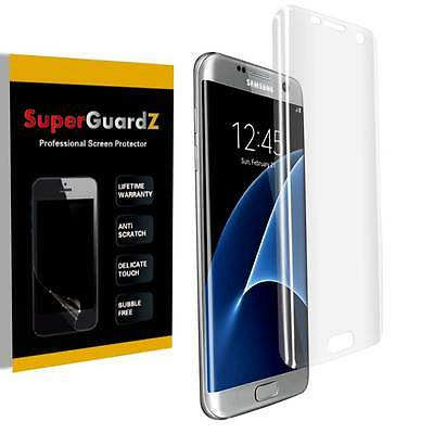 $ CDN8.28 • Buy 3X 3D Curved Clear FULL COVER Screen Protector Guard For Samsung Galaxy S7 Edge