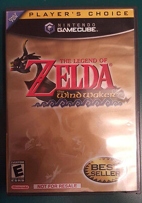 $75 • Buy Legend Of Zelda: The Wind Waker - Nintendo GameCube RARE! NOT FOR RESALE!