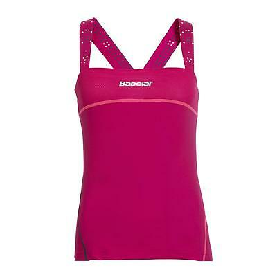 Babolat Girls Match Performance Tank Top – Cherry Red • 15£
