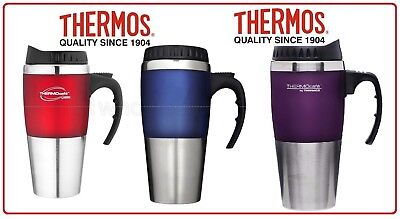 AU19.85 • Buy ❤ Thermos STAINLESS STEEL VACUUM INSULATED Cafe Travel Mug Double Wall 450ML ❤