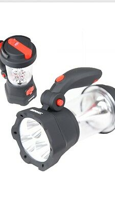 £28.99 • Buy Duronic Hurricane 4 In 1 Rechargeable Wind-Up Lantern & Torch , Garden, Ligh