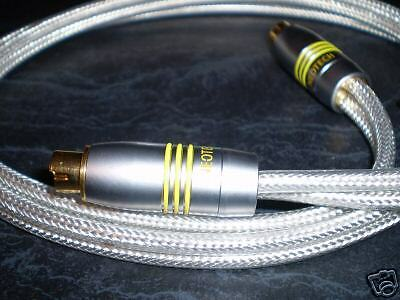 AU9.95 • Buy New Neotech Origin Highend Ofc S-video To S-video Cable 3.0m Rrp89