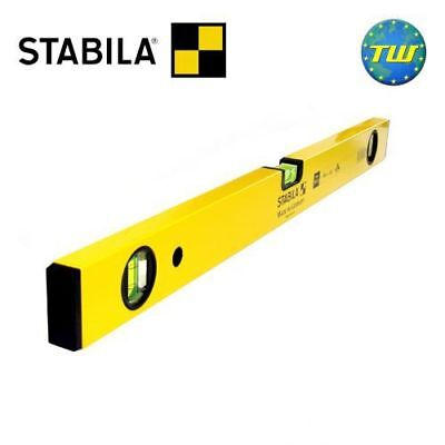 Stabila 70-2 60cm Smooth Box Spirit Level 24in With 3x Vials 600mm 70-2-60 02324 • 18.99£