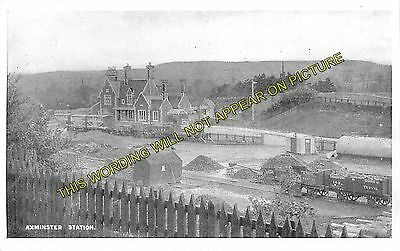 Axminster Railway Station Photo. Chard - Seaton Jct. Yeovil To Honiton Line. (7) • 3.50£