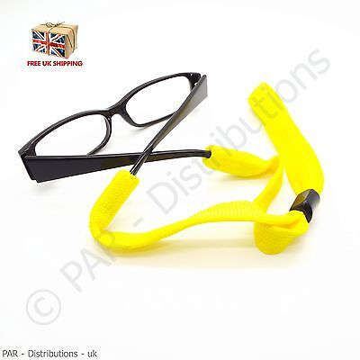 Yellow Sports Neck Strap Reading Glasses Cord Spectacles Lanyard Sunglasses  • 2.49£