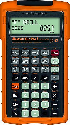 $76.95 • Buy Calculated Industries Machinist Calc Pro 2 Model 4088 With Armadillo Case