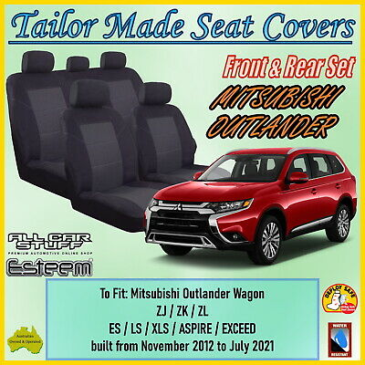 AU138.94 • Buy Tailor Made Seat Covers For Mitsubishi Outlander 5: ZJ ZK ZL; 11/2012 - Current