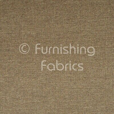 Hard Wearing Linen Effect Chenille Upholstery Curtains Furnishings Taupe Fabrics • 4.99£