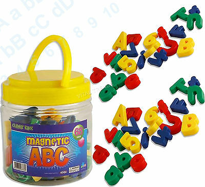 Magnetic Alphabet Letters Lower Case & Maths Numbers Fridge Magnets Gift Set  • 6.99£