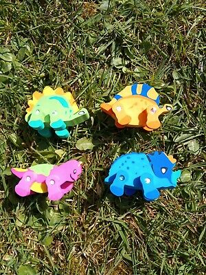 £1.49 • Buy  Dinosaur Erasers 3D Rubbers Boys Kids Childrens Stationery Party Bag Fillers