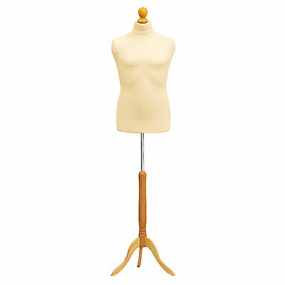 £34.95 • Buy Child Size Age 1  Tailors Bust Mannequin Cream Dummy  Fashion  Retail Display