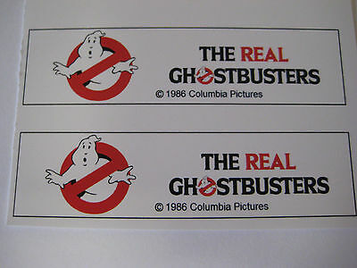 AU5.89 • Buy Ghostbusters Ghost Extinguisher Water Gun Squirt Gun Replacement Stickers - B2G1