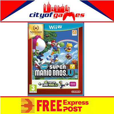 AU41.95 • Buy New Super Mario Bros U New Super Luigi U Nintendo Selects Wii U New Free Express