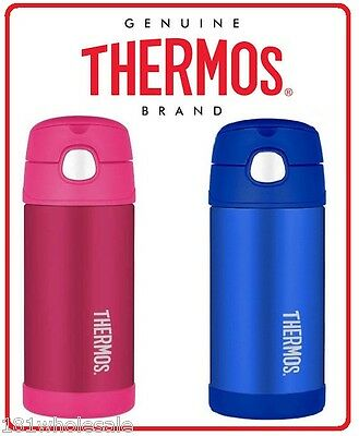 AU23.93 • Buy Thermos STAINLESS STEEL Vacuum Insulated Drink Bottle 355ml Funtainer Pink Blue