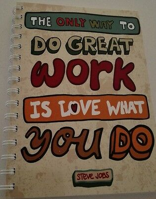 AU14.95 • Buy 2021-2022 Financial Year Diary 'love What You Do' Quote  A5 WEEK TO VIEW