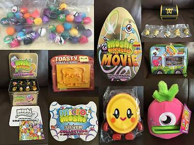 Moshi Monsters Moshling Collectable Soft Toys Figures Glumps Tins & Accessories • 12.99£