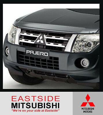 AU100.25 • Buy Genuine Mitsubishi Bonnet Protector Tinted For Pajero Ns Nt Nw Nx Mr933543
