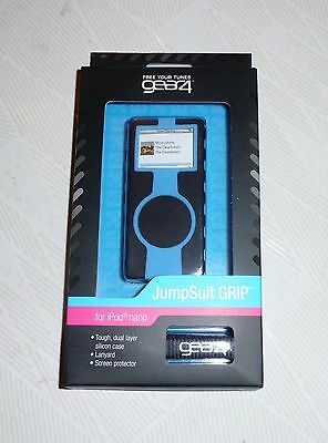 £5.75 • Buy Gear4 Jumpsuit GRIP Silicone Case For IPod Nano 2nd Gen 2-8GB  UK