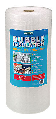 Gardman Greenhouse Bubble Insulation Pack With Clips 30x0.75m • 16.65£