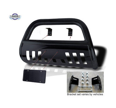 $1129.99 • Buy 2002-2012 Jeep Liberty Classic Bumper Guard Push Bull Bar In Black Bumper Guard